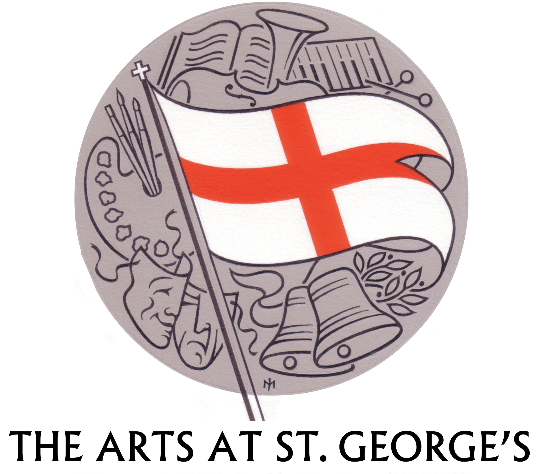 Arts at St Georges logo